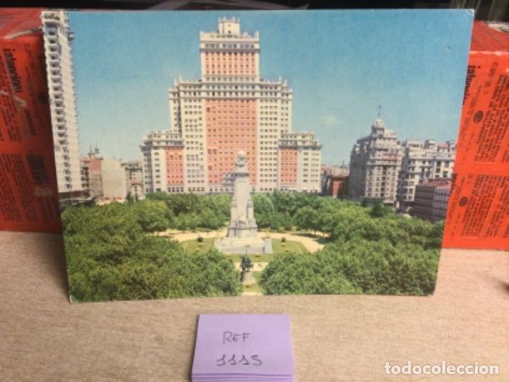POSTAL ANTIGUA MADRID - PLAZA DE ESPAÑA - -(REF,1115 ) 15 X 20,5 CMS APRX (Postales - España - Madrid Moderna (desde 1940))