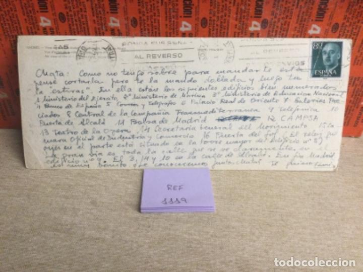 Postales: Postal antigua MADRID - PANORÁMICA MADRID - -(ref,1119 ) 9,5 x 23,5 cms aprox - Foto 2 - 243690335