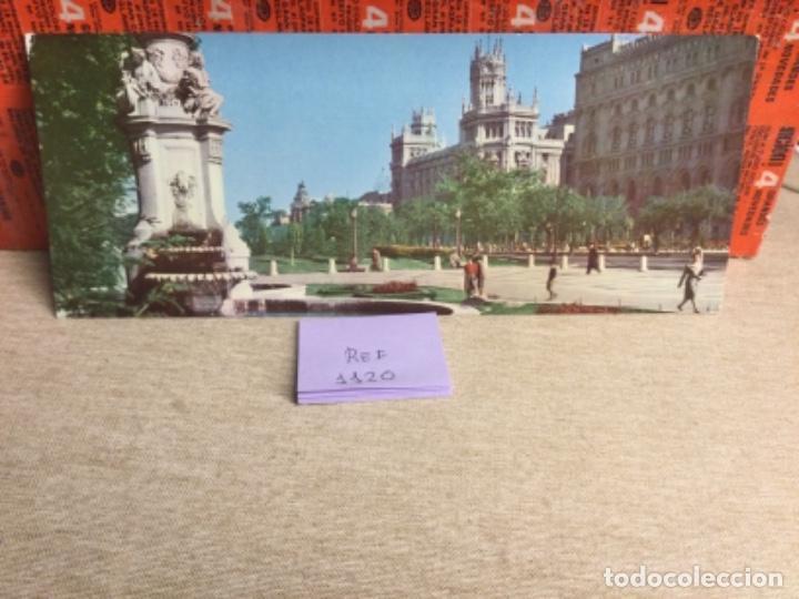 POSTAL ANTIGUA MADRID - PANORÁMICO PASEO DEL PRADO - -(REF,1120)) 9,5 X 23,5 CMS APROX (Postales - España - Madrid Moderna (desde 1940))