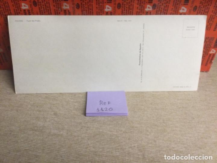 Postales: Postal antigua MADRID - PANORÁMICO PASEO DEL PRADO - -(ref,1120)) 9,5 x 23,5 cms aprox - Foto 2 - 243690350
