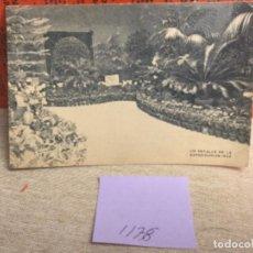 Postales: POSTAL ANTIGUA. BLANCO Y NEGRO - MADRID - REF, 1178 JARDÍN FLORITA DE LUIS RODRÍGUEZ. Lote 243804265