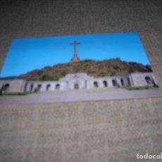 Postales: POSTAL SANTA CRUZ DEL VALLE DE LOS CAIDOS. FACHADA PRINCIPAL. EDITA: PATRIMONIO NACIONAL. PSV - 1/86. Lote 243860685