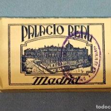 Postales: ANTIGUO ESTUCHE DE 24 POSTALES EN ACORDEON DEL PALACIO REAL DE MADRID. Lote 243864015