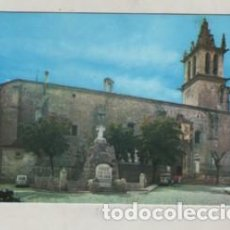 Postales: POSTAL DE COLMENAR VIEJO - MADRID - VISTA EXTERIOR DE LA IGLESIA Nº 4 FOTO NUÑEZ. Lote 243892360