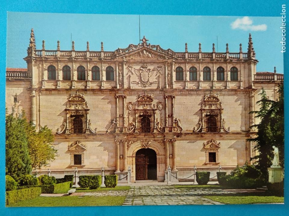 ALCALÁ DE HENARES. FACHADA DE LA UNIVERSIDAD. ED. VISTABELLA Nº1 (Postales - España - Madrid Moderna (desde 1940))