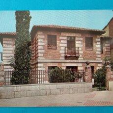 Postales: ALCALA DE HENARES - CASA DE CERVANTES - MADRID - EDITA VISTABELLA Nº6.. Lote 244729880
