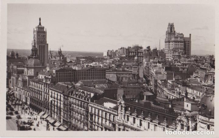 ANTIGUA FOTO / POSTAL MADRID, VISTA PARCIAL – EDITA RAPIDE – S/C (Postales - España - Madrid Moderna (desde 1940))
