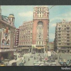 Postales: POSTAL SIN CIRCULAR MADRID PLAZA DE CALLAO EDITA E.P ROSETTE. Lote 245173250