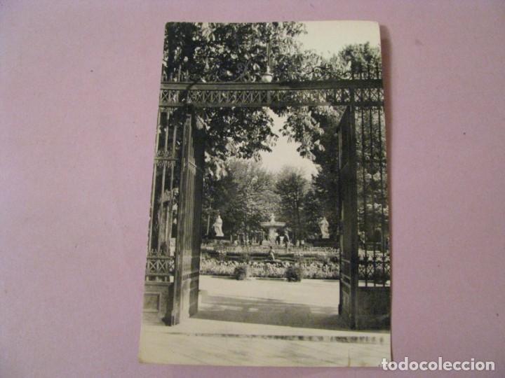 POSTAL DE MADRID. RETIRO: PUERTA DE HERNANI. HELIOTIPIA ARTISTICA ESPAÑOLA. 59. CIRCULADA 1963. (Postales - España - Madrid Moderna (desde 1940))