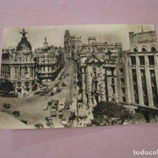 Postales: POSTAL DE MADRID. AVENIDA DE JOSE ANTONIO. HELIOTIPIA ARTISTICA ESPAÑOLA. 2. 1958.. Lote 245470255