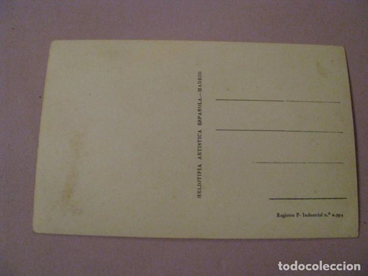 Postales: POSTAL DE MADRID. HELIOTIPIA ARTISTICA ESPAÑOLA. - Foto 2 - 245470995