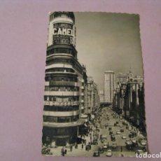 Postales: POSTAL DE MADRID. AVENIDA JOSE ANTONIO GARCIA GARRABELLA. ESCRITA 1963.. Lote 245471665