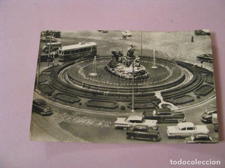 POSTAL DE MADRID. FUENTE DE LA CIBELES. Nº 44. CIRCULADA. (Postales - España - Madrid Moderna (desde 1940))