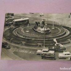 Postales: POSTAL DE MADRID. FUENTE DE LA CIBELES. Nº 44. CIRCULADA.. Lote 245472550