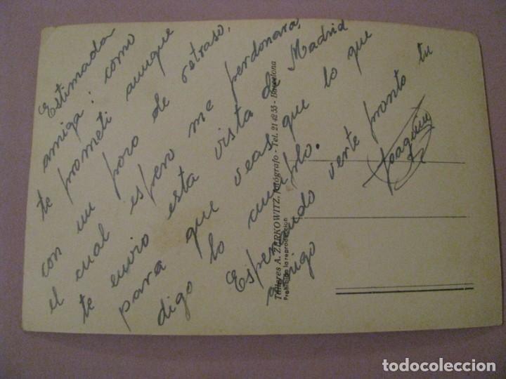 Postales: POSTAL DE MADRID. RETIRO. PALACIO DE CRISTAL. TALLERES A. ZERKOWITZ. ESCRITA. - Foto 2 - 245477085