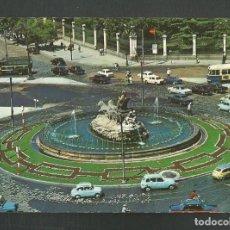 Postales: POSTAL CIRCULADA - MADRID 43 - LA CIBELES - EDITA GALLEGOS. Lote 245532530