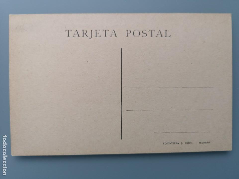 Postales: POSTAL MADRID CAPITANIA GENERAL Y CALLE MAYOR EDI J. ROIG CARRO CABALLOS MILITARES LLEVANDO UN CAÑON - Foto 2 - 245539550