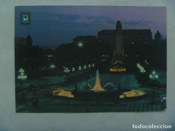 POSTAL DE MADRID : PLAZA DE ESPAÑA . AÑOS 70 CON 2 SELLOS DETRAS SIN MATASELLAR (Postales - España - Madrid Moderna (desde 1940))