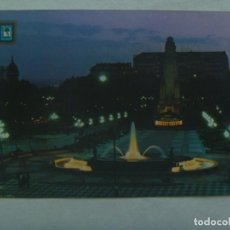 Postales: POSTAL DE MADRID : PLAZA DE ESPAÑA . AÑOS 70 CON 2 SELLOS DETRAS SIN MATASELLAR. Lote 245656045