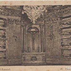 Postales: (447) POSTAL MONASTERIO DEL EL ESCORIAL - PANTEON DE LOS REYES -HAUSER Y MENET - PUNTOS DE OXIDO. Lote 245738015