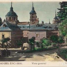 Postales: (452) POSTAL MONASTERIO DEL ESCORIAL - VISTA GENERAL -L.ROISIN - SIN CIRCULAR. Lote 245738735