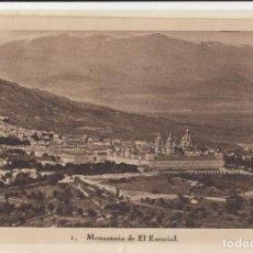 Postales: (458) POSTAL MONASTERIO DE EL ESCORIAL - HAUSER Y MENET - SIN CIRCULAR. Lote 245739610