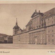 Postales: (459) POSTAL MONASTERIO DEL ESCORIAL - FACHADAS PRINCIPAL - HAUSER Y MENET - SIN CIRCULAR. Lote 245739725