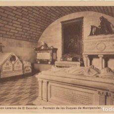 Postales: (470) POSTAL MONASTERIO DEL ESCORIAL - PANTEON DUQUES MONTPENSIER - EDIC. G.GARRABELLA -SIN CIRCULAR. Lote 245740500