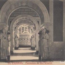 Postales: (468) POSTAL MONASTERIO DEL ESCORIAL - PANTEON DE LOS PÁRVULOS - CASTÑEIRA Y ALVAREZ - SIN CIRCULAR. Lote 245740545