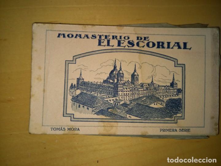 MADRID LIBRITO DE POSTALES DEL MONASTERIO DEL ESCORIAL (Postales - España - Comunidad de Madrid Antigua (hasta 1939))