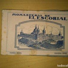 Postales: MADRID LIBRITO DE POSTALES DEL MONASTERIO DEL ESCORIAL. Lote 245785555