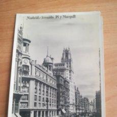 Postales: MADRID, AVENIDA DE PI Y MARGALL. MARGARA.. Lote 245892175