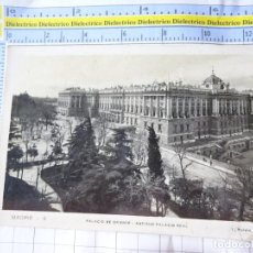 Postales: POSTAL DE MADRID. AÑOS 30 50. PALACIO DE ORIENTE, ANTIGUO PALACIO REAL. 6 ROISIN. 3663. Lote 246146505