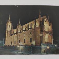 Postales: POSTAL MADRID. IGLESIA DE LOS JERÓNIMOS NOCTURNA. Lote 246317065