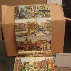 Postales: POSTALES 10 VISTAS DE MADRID. AÑOS 50. Lote 246324440