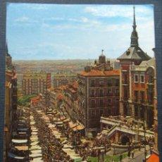 Postales: MADRID , PANORÁMICA DEL RASTRO, ANTIGUA POSTAL SIN CIRCULAR. Lote 246438300
