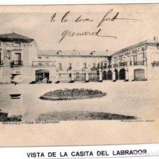Postales: MADRID.- PUEBLO DE ARANJUEZ, CASITA DEL LABRADORT, CIRCULADA 1896,FOT, LAURENT,JMOLINA1946. Lote 246446515