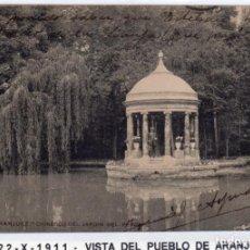 Postales: MADRID.- PUEBLO DE ARANJUEZ,CHINESCO, CIRCULADA 1911,FOT, DIAZ,JMOLINA1946. Lote 246448360