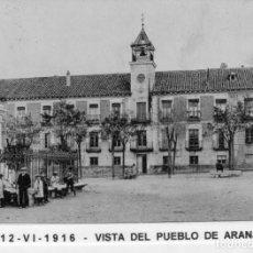 Postales: MADRID.- PUEBLO DE ARANJUEZ,AYUNTAMIENTO, CIRCULADA 1916,FOT,H.A.E,JMOLINA1946. Lote 246452035
