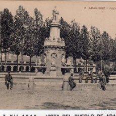 Postales: MADRID.- PUEBLO DE ARANJUEZ,FUENTE DE VENUS, CIRCULADA 1915,FOTJ.GARCIA,JMOLINA1946. Lote 246452975