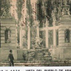 Postales: MADRID.- PUEBLO DE ARANJUEZ,J.DE LA ISLA, CIRCULADA 1926,FOT, T.G,JMOLINA1946. Lote 246455535
