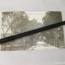 Postales: ANTIGUA POSTAL FOTOGRÁFICA DEL COLEGIO DE CHAMARTÍN S. J. MADRID - ENTRADA AL PINAR. Lote 246491315