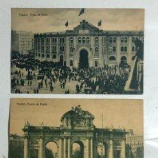 Postales: BONITO LOTE DE 24 POSTALES ANTIGUAS DE MADRID. Lote 246517575