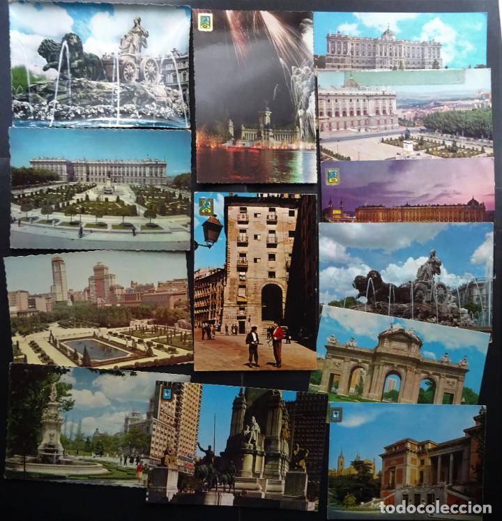 Postales: Colección de 65 postales de Madrid, ver fotografías - Foto 3 - 247675055