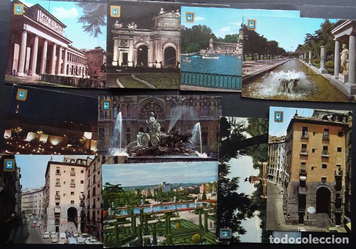 Postales: Colección de 65 postales de Madrid, ver fotografías - Foto 4 - 247675055