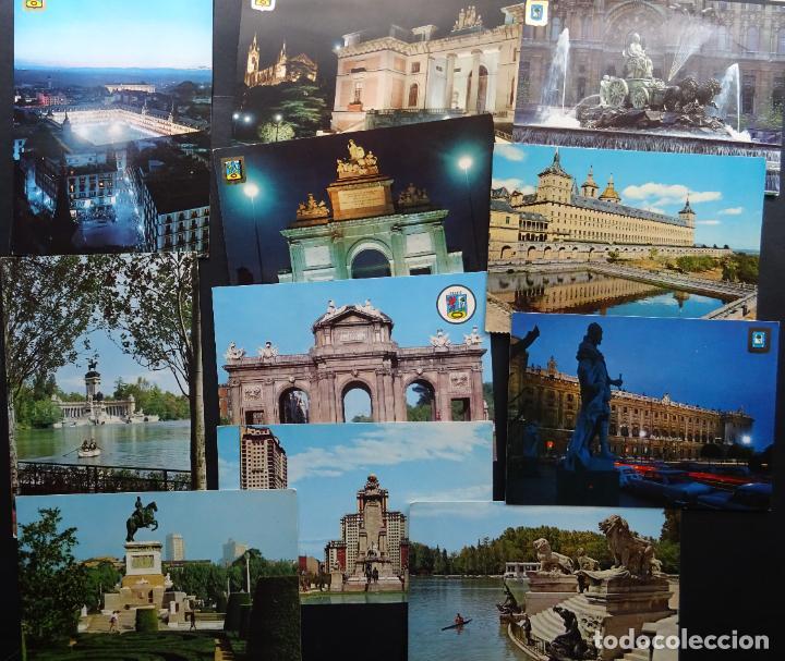 Postales: Colección de 65 postales de Madrid, ver fotografías - Foto 6 - 247675055