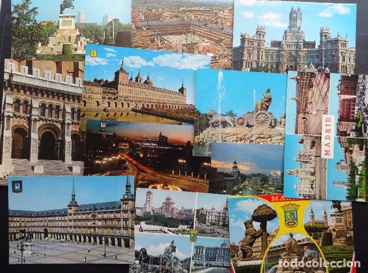Postales: Colección de 65 postales de Madrid, ver fotografías - Foto 7 - 247675055