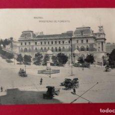 Postales: MADRID MINSITERIO DE FOMENTO FOTOTIPIA DE HAUSER Y MENET. Lote 248754075