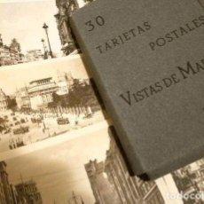 Postales: MADRID ALBUM CON 30 TARJETAS POSTALES VISTAS DE MADRID HELIOTIPIA DE KALLMELLER, PRINCIPIOS SIGLO XX. Lote 253169115
