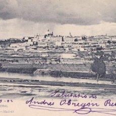 Postales: MADRID, VISTA GENERAL. ED. HAUSER Y MENET Nº 1134. REVERSO SIN DIVIDIR. CIRCULADA EN 1902. Lote 253185195
